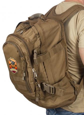 Стильный рюкзак для мужчины с нашивкой Русская Охота