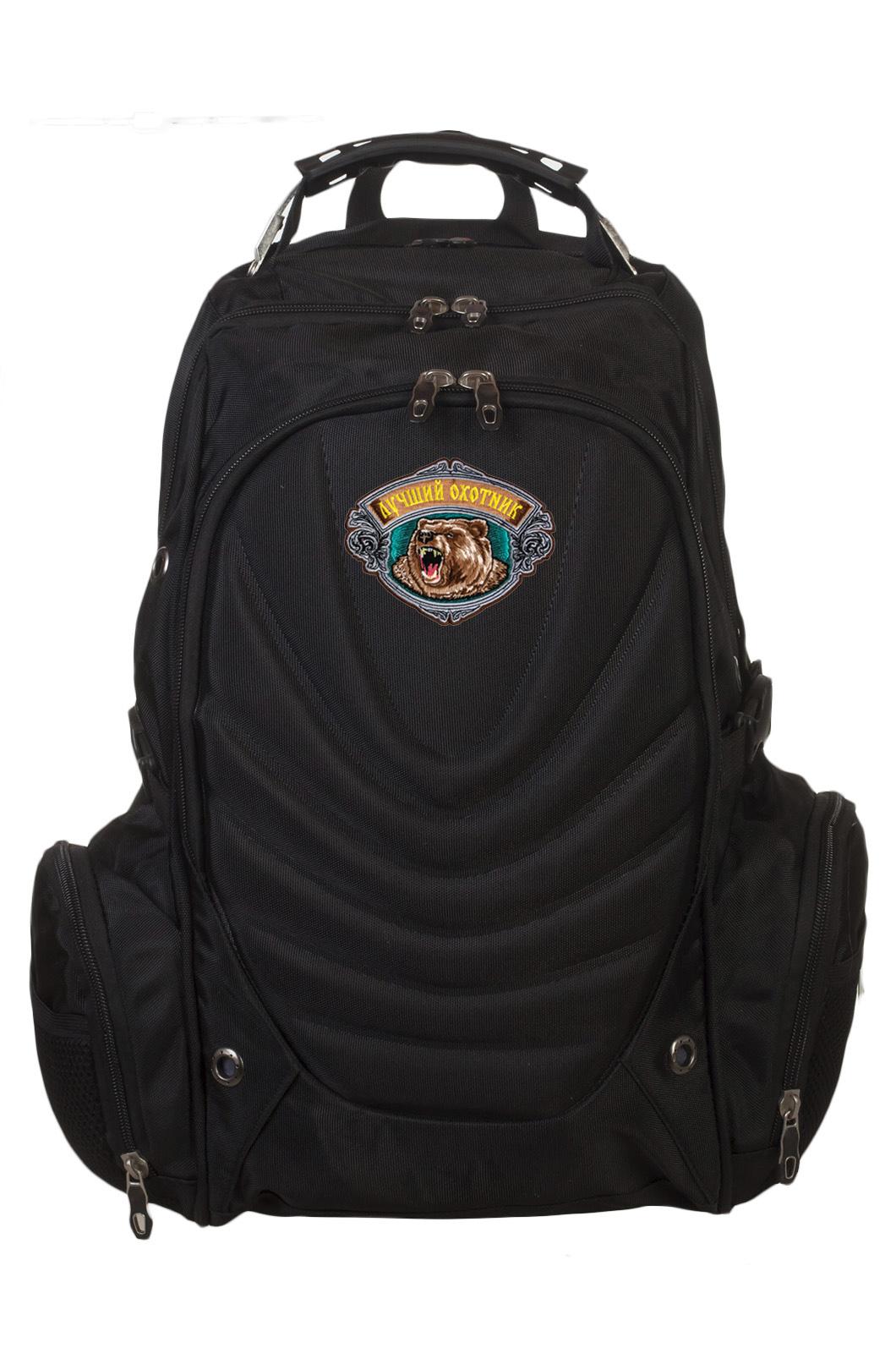 Стильный рюкзак с тематической нашивкой для лучшего охотника