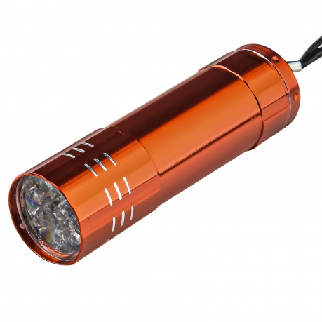 Стильный светодиодный фонарик (оранжевый)