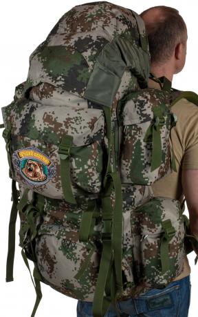 Стильный вместительный рюкзак с нашивкой Лучший Охотник