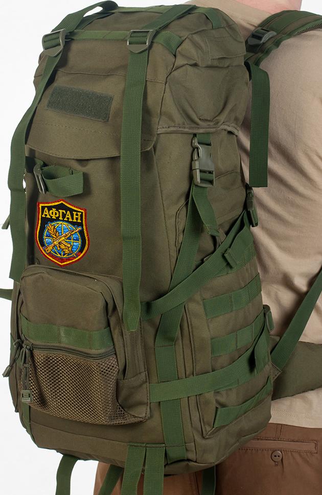 Стильный военный рюкзак с нашивкой Афган - купить онлайн