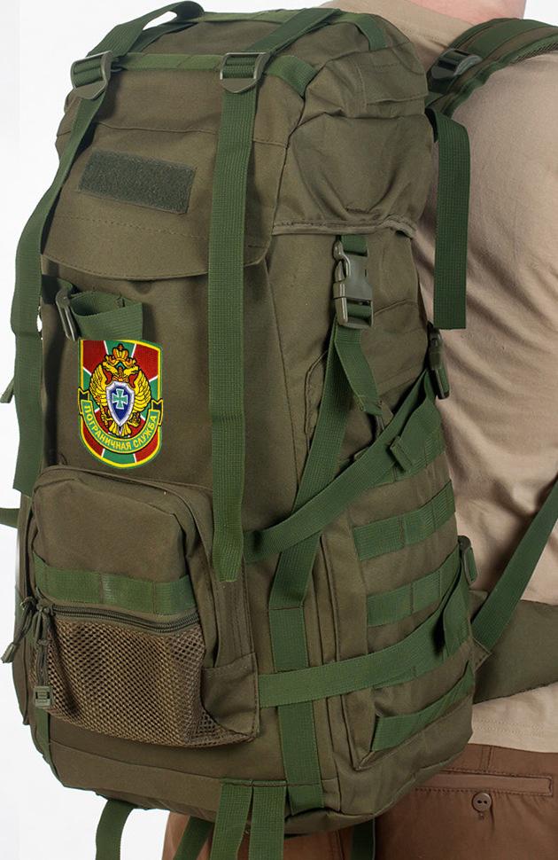 Стильный военный рюкзак с нашивкой Погранслужбы - купить онлайн