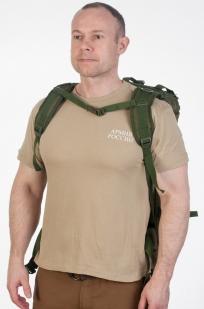 Стильный военный рюкзак с нашивкой Погранслужбы - купить с доставкой