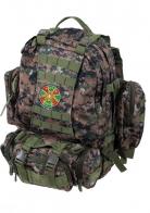 Стильный военный рюкзак с нашивкой Погранвойска - купить оптом