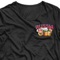 Стойкая наклейка-термотрансфер Россия