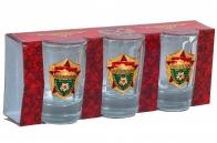 Подарочный набор стопок для водки «Бронетанковое оружие СССР»