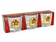 Подарочные стопки Кокарда СССР