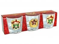 Подарочные стопки в наборе Советское бронетанковое оружие