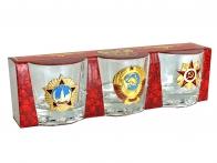 Подарочные стопки в наборе Страна Советов