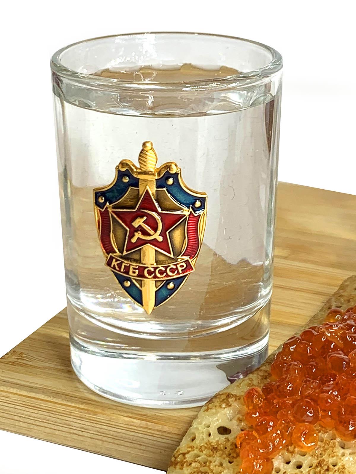 Подарочные стопки КГБ