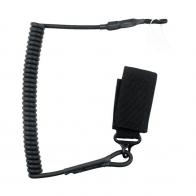 Страховочный пистолетный шнур (черный)