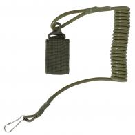 Страховочный шнур-тренчик для пистолета (олива)