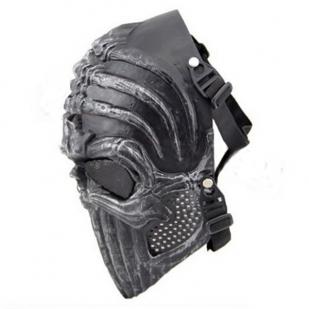 Страйкбольная маска на лицо с черепом