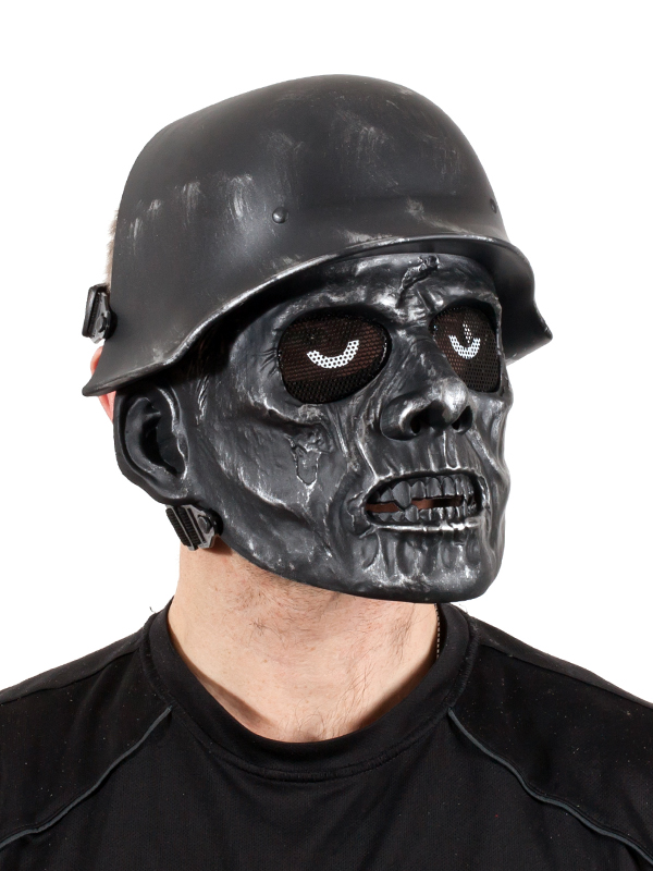 Страйкбольная маска зомби-фашиста