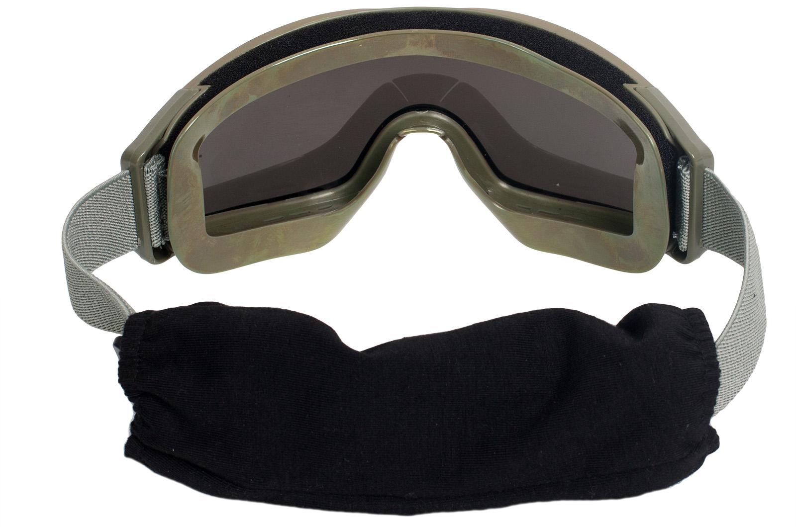 Страйкбольные очки со сменными линзами с доставкой