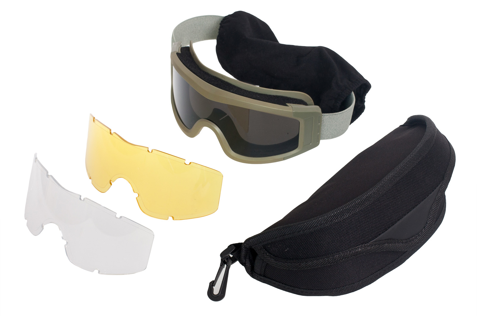 Заказать страйкбольные очки со сменными линзами