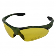 Стрелковые очки с защитой UV 400 желтые