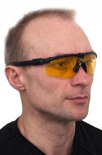 Заказать стрелковые очки желтые