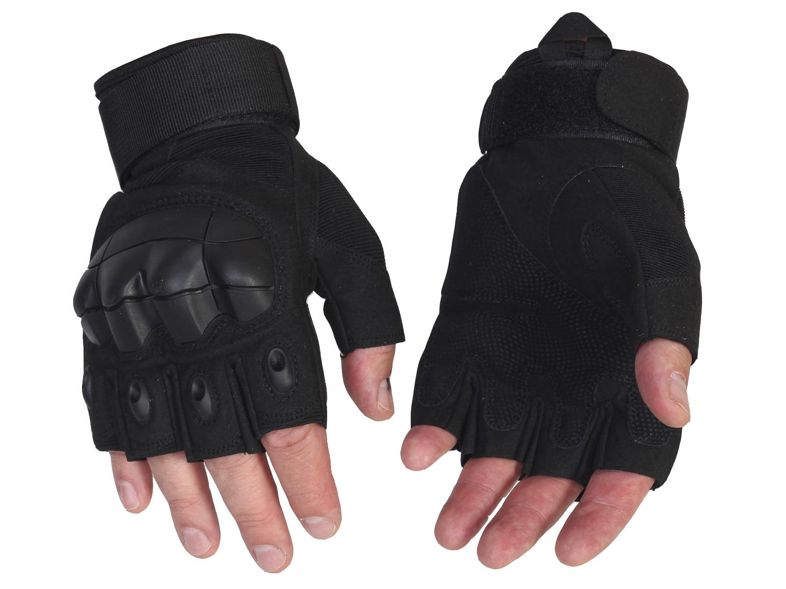 Стрелковые перчатки без пальцев