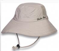 Строгая бежевая шляпа