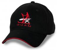 Строгая черная бейсболка Guam