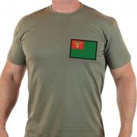 Строгая мужская футболка Погранвойска СССР