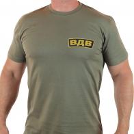Строгая мужская футболка с легендарной аббревиатурой ВДВ