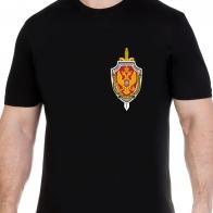 Строгая футболка с эмблемой ФСБ