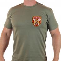 """Строгая мужская футболка """"Росгвардия""""."""