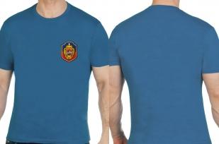Строгая мужская футболка с вышивкой Уголовный Розыск - заказать выгодно