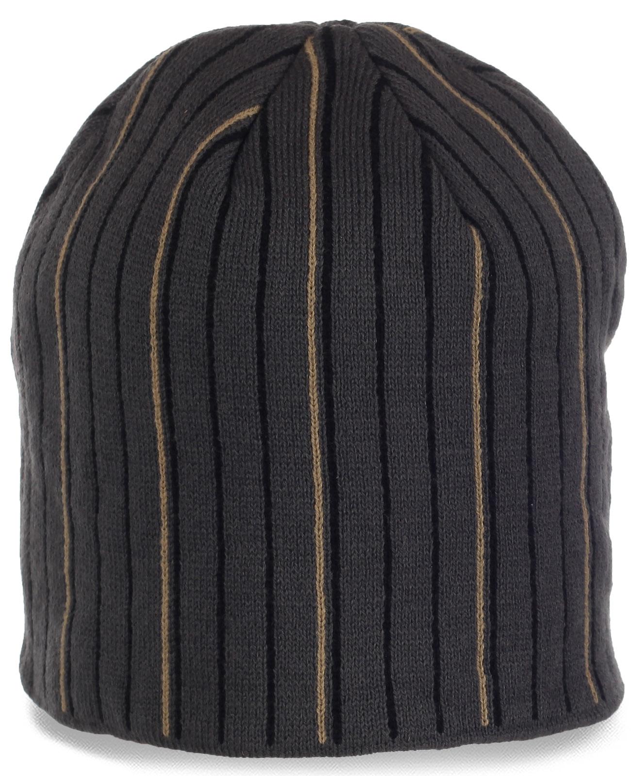 Строгая мужская шапка