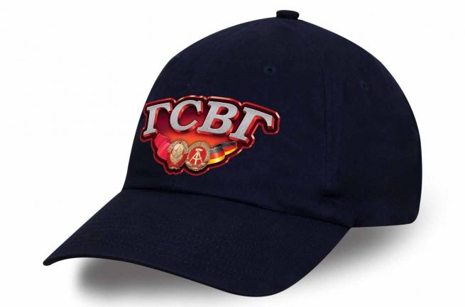 Строгая синяя кепка с термотрансфером ГСВГ купить онлайн