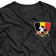 Сублимация на футболку Belgium