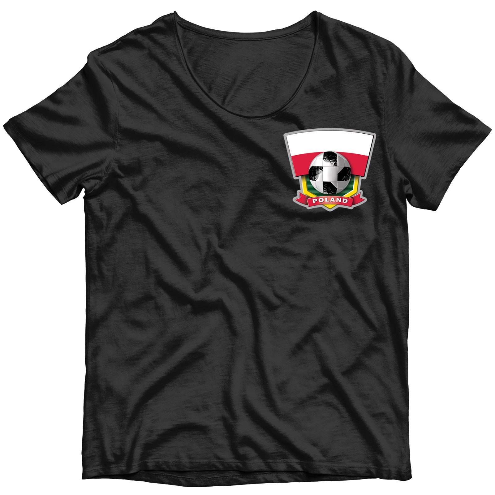 Сублимация на футболку Польша