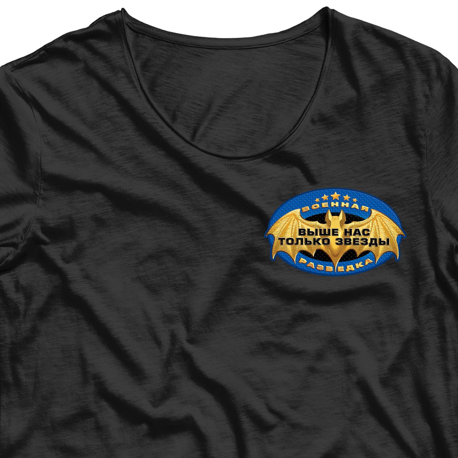 Сублимация на футболку Военная разведка.