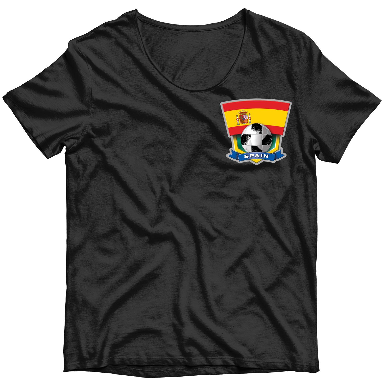 """Сублимация на футболку """"Сборная Испании"""""""