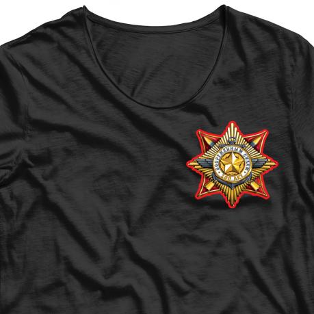 Сублимация юбилейного Знака «100 лет Вооруженным Силам».