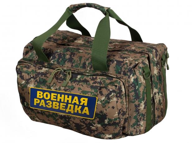 Заплечная военная сумка-баул Военная разведка