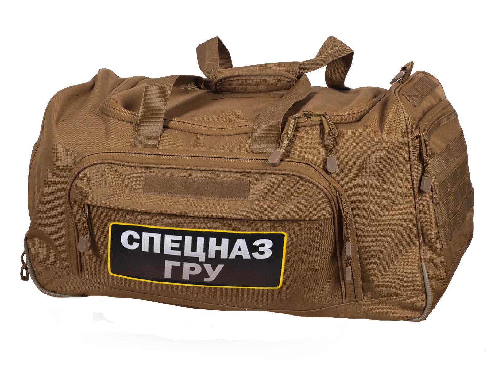 Новая амуниция Спецназа ГРУ – тактическая сумка 08032B Coyote.