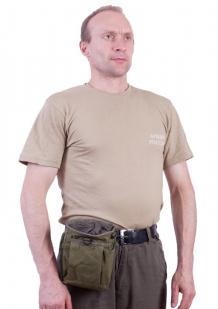 Сумка для фляги хаки с нашивкой Охотничий спецназ купить выгодно