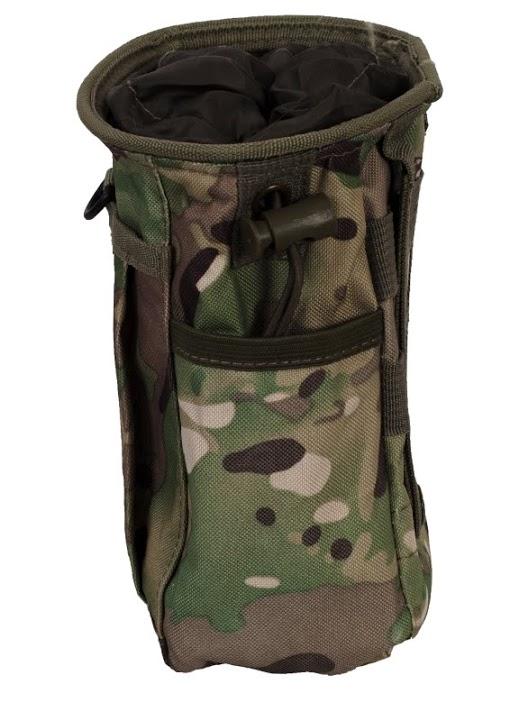 Армейская сумка для фляги на пояс с шевроном ВМФ