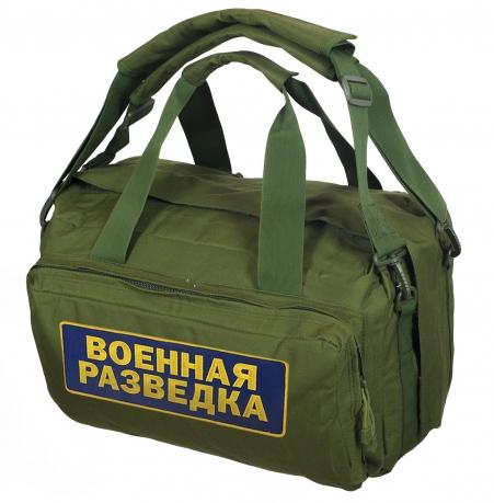 Тактическая сумка хаки-олива для разведчиков