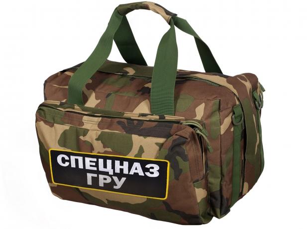 «Умная» снаряга ГРУ – военная камуфляжная сумка
