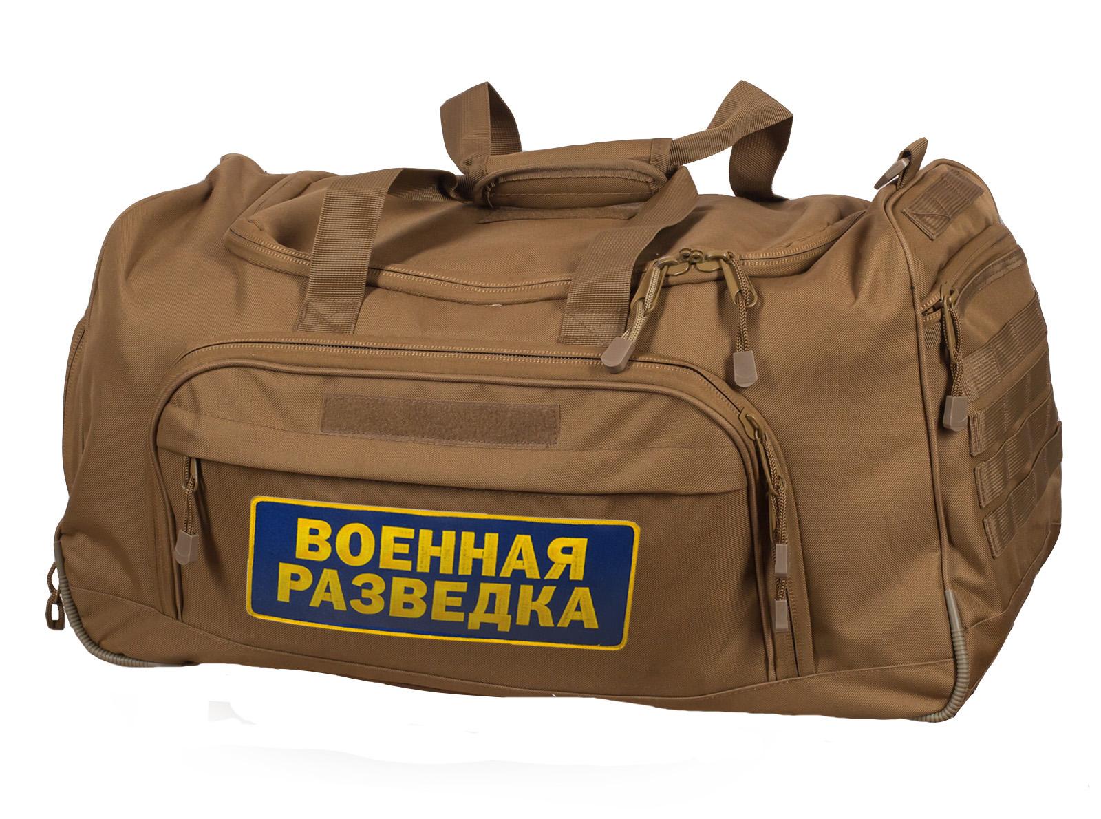 Износостойкая тактическая сумка разведчика 08032B Coyote