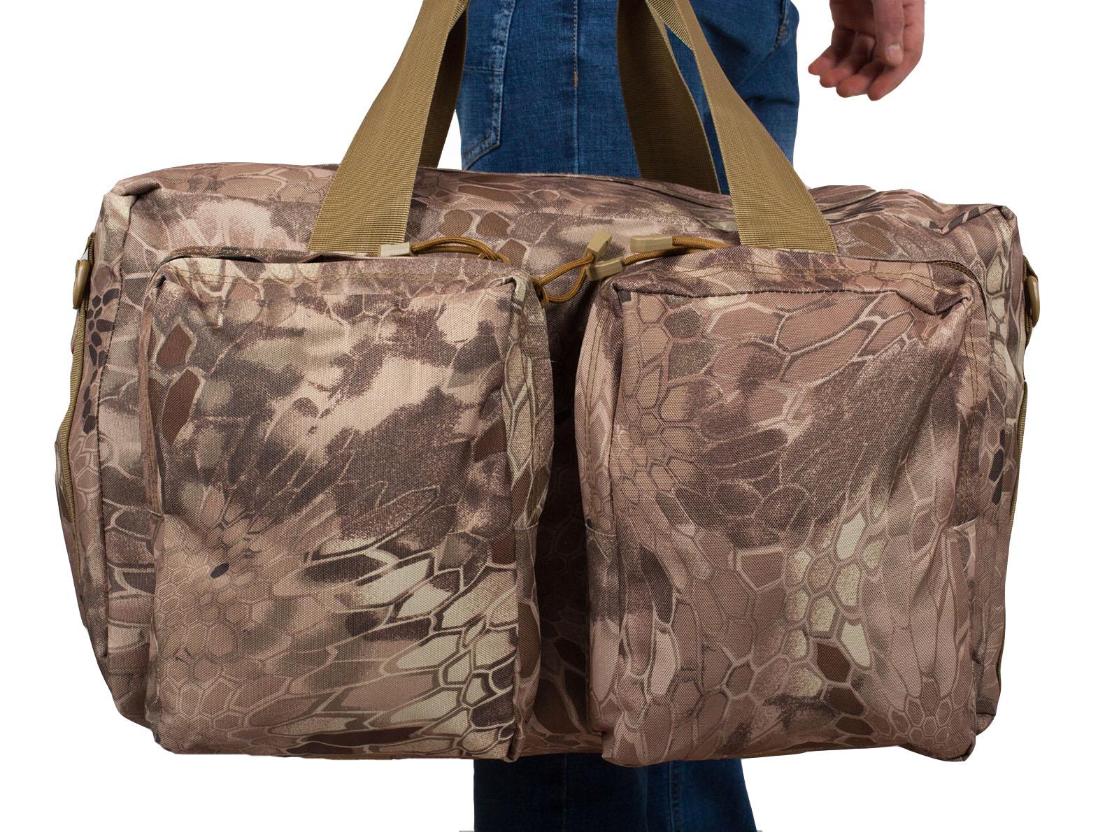 Компактная, но вместительная сумка-рюкзак десантника