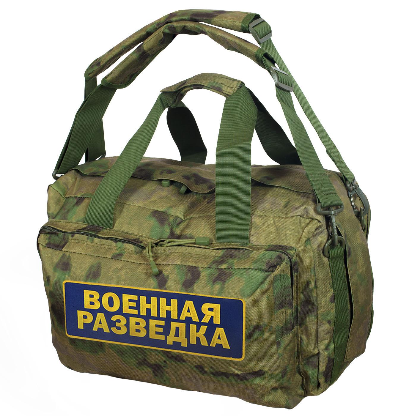 Сумка-рюкзак ВОЕННАЯ РАЗВЕДКА.