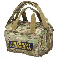 Вещь на века! Камуфляжная сумка-рюкзак Военная Разведка