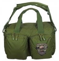 Сумка-рюкзак хаки с нашивкой Охотничьих войск