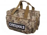 Тактика Спецназа – камуфляжная сумка-рюкзак.
