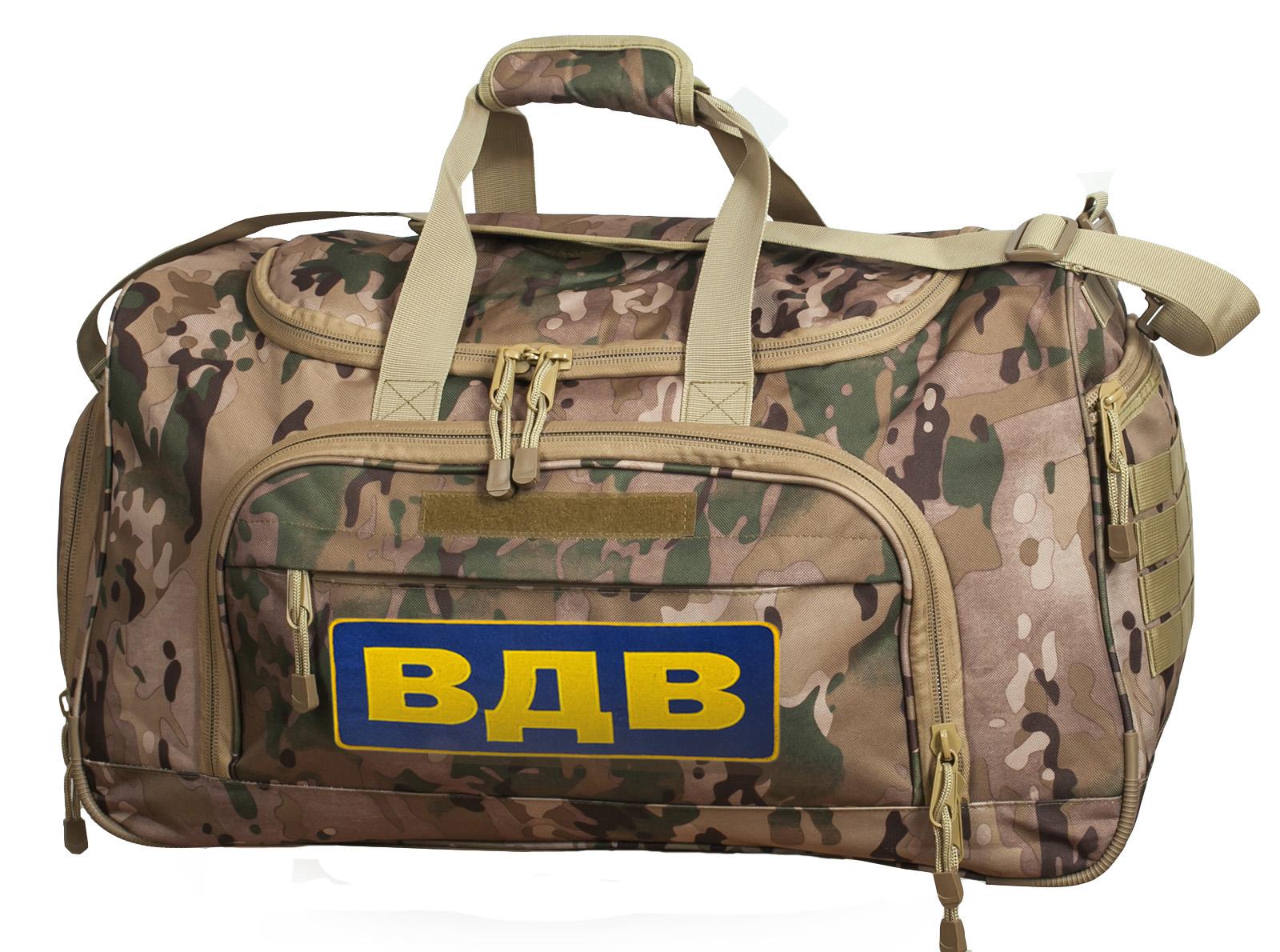 Камуфляжная дорожная сумка ВДВ Multicam
